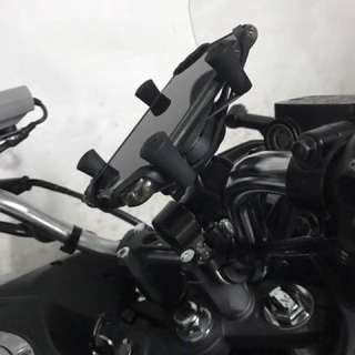 Honda Cb190x (MWUPP X Grip Handphone Holder)