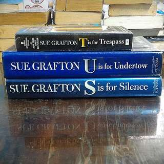 Sue Grafton Novels Bundle of 3