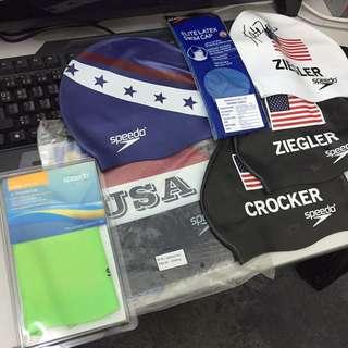 Speedo 泳帽 全新出口貨版 保證正貨