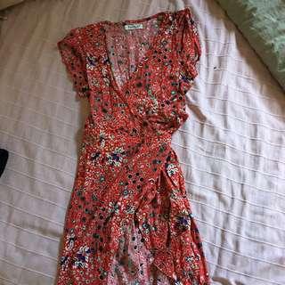 Sunny Girl Wrap Dress