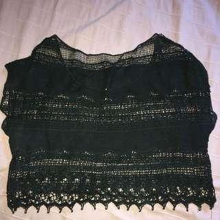 Vintage Cropped Top