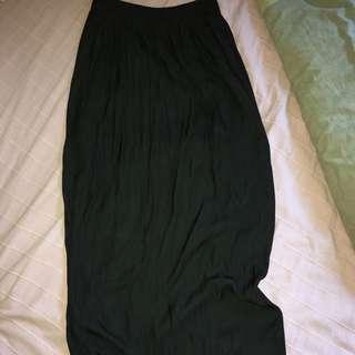 Sportsgirl Silk High Waisted Skirt