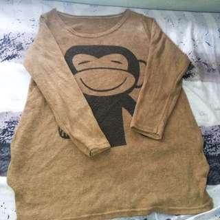 Baju Panjang Semi Sweater