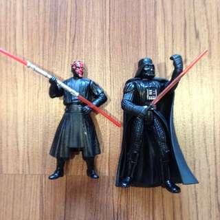 Star Wars Darth Vader & Darth Maul