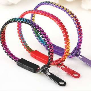 * [Ready Stock] Zipper Bracelets