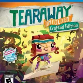 Ps4 Game Tearaway Unfolded