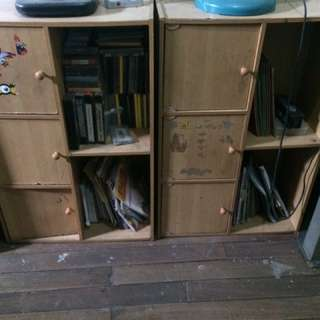 2pc Cabinet w/ Office Table