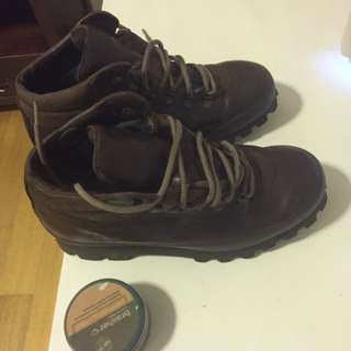 Genuine Leather Walking Boots