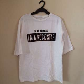 White Swagger Shirt