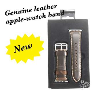 Genuine Leather Apple Watch Band 42
