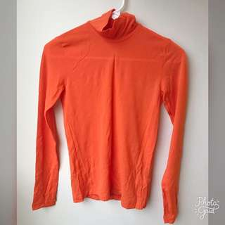 Longsleeves Top Turtleneck