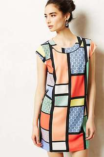 Hi There From Karen Walker Colour Block dress