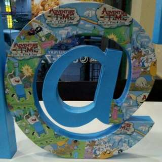 Customized And Plain Letter Standee