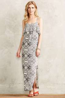 Anthropologie long summer dress
