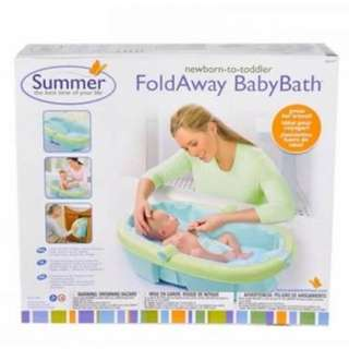 Summer Fold Away Baby Bath (New)
