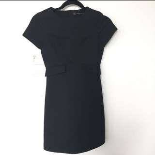 Zara XS Trafaluc Collection Black Playsuit
