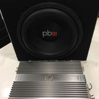 DLS Mono RA 10 And PB Woofer