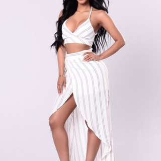 2-piece Fashion Nova/M By Mendocino Set XS