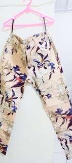 Minimal Pants Flower