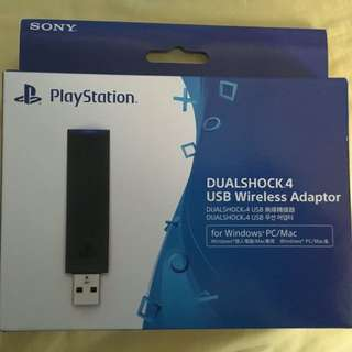 PlayStation 4 Dual Shock 4 USB Wireless Adapter