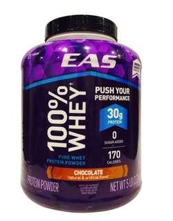 EAS 乳清 蛋白 營養補充粉 巧克力 2.27公斤 Costco 全新品 1999元