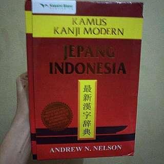 Kamus Kanji Modern Jepang-Indonesia Andrew N. Nelson