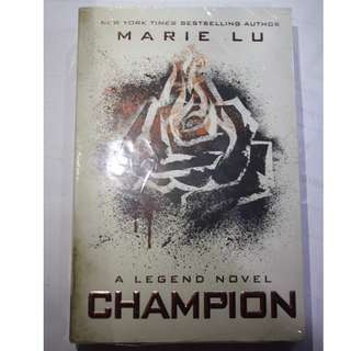 Champion novel book