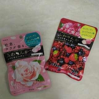*現貨*日本人氣//香芬軟糖. (玫瑰/莓果)