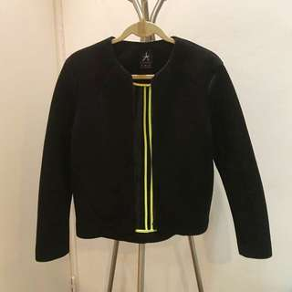 Black Bomber Jacket Uk Size 8