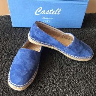 Castell Women's Espadrilles (Blue Suede)