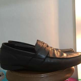 Bonia Black Leather