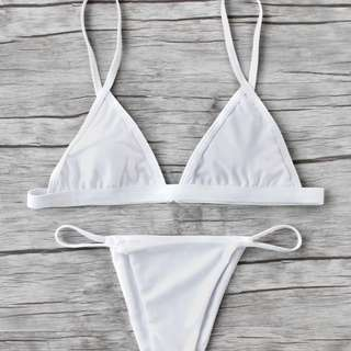 Beach Triangle Bikini Set
