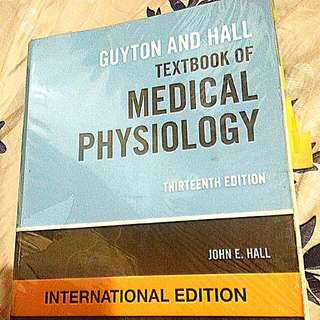 Medical Physiology Medical Book