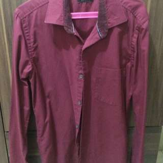 Wharton Long Sleeves Maroon