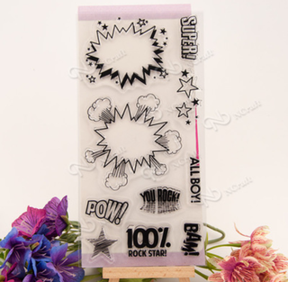 Bow Pow Clear Stamp