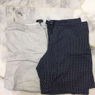 Zalora Two Combo Shorts