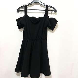 Black Offshoulder Dress