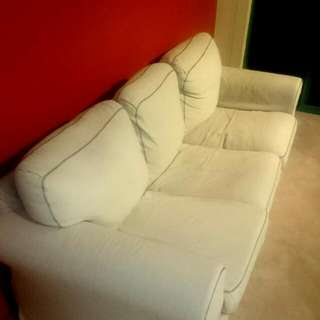 *Donating If Nobody Buys* 3-Seater Linen Sofa