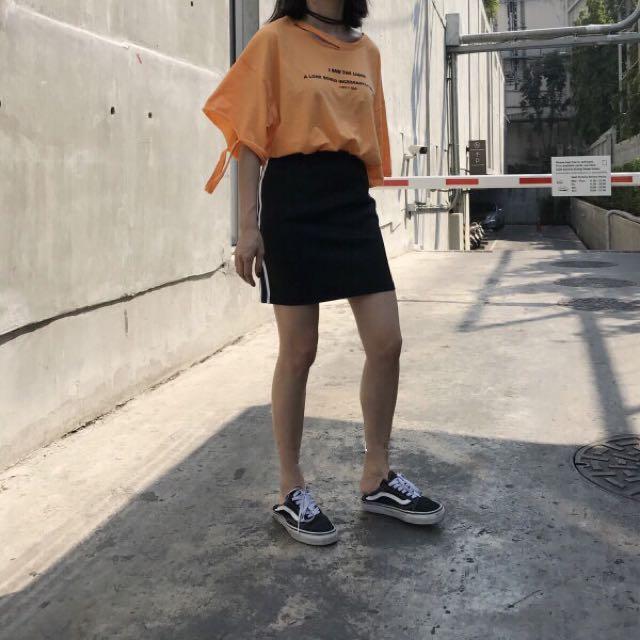 運動風短裙