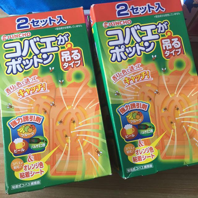 🇯🇵日本代購-金雞捕果蠅補誘盒兩入一組