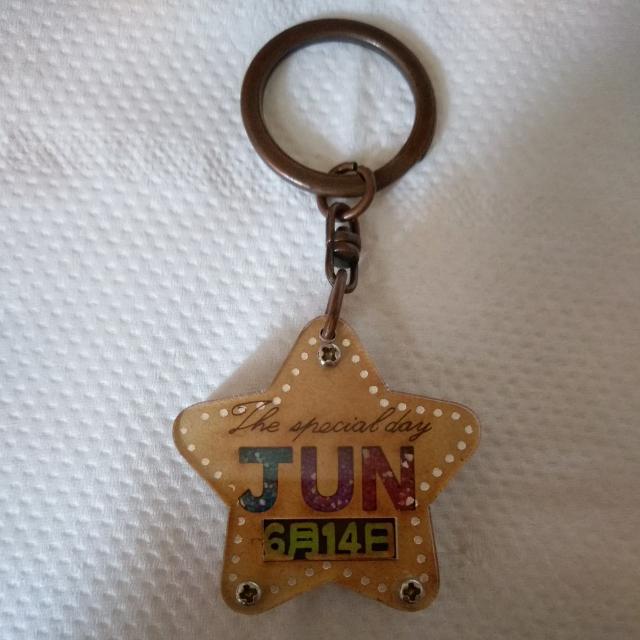鑰匙圈-周子瑜生日