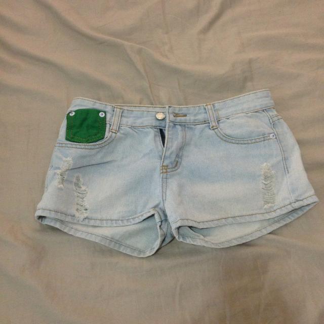 🎯牛仔短褲