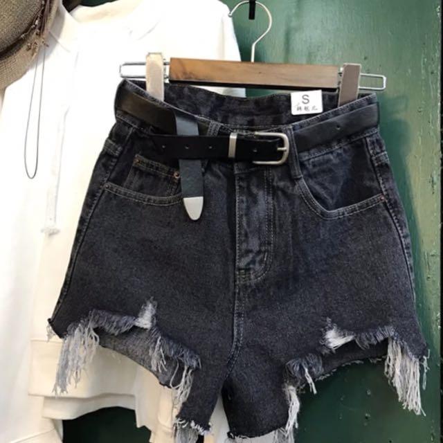 AA高腰短褲