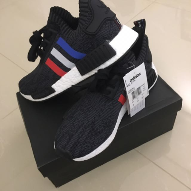 buy popular 55904 70605 Adidas NMD R1 Tri Color - black US9