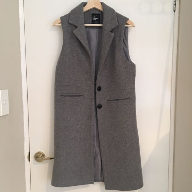 All About Eve Grey Coat Size 8
