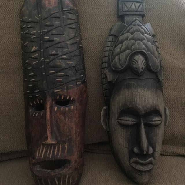 Ancient tribal decor/masks