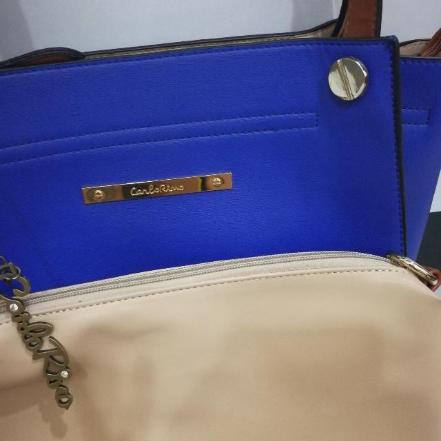 Authentic Carlo Rino Tote Bag