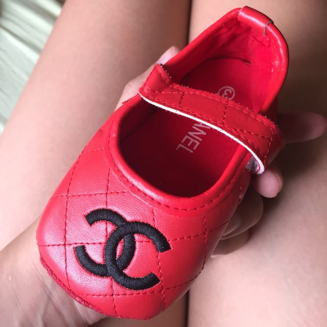 AUTHENTIC Chanel Red Shoes