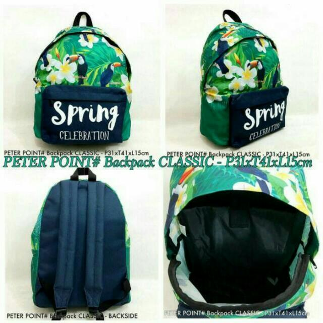 Bacpack Import PETERPOINT