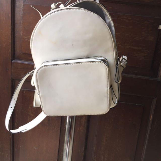 Bagpack White Cnk
